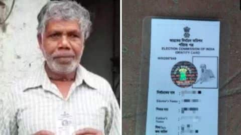 Bengal man issued voter ID with dog's photo; issue corrected