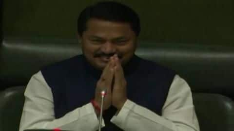 Congress' Nana Patole elected unopposed as Speaker of Maharashtra Assembly