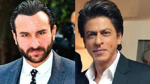 Saif Ali says SRK made his career playing 'male stalker'