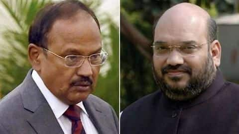 NSA Ajit Doval briefs Amit Shah on Kashmir situation