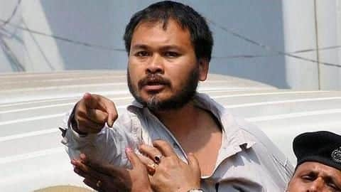 Arrested for sedition, activist Akhil Gogoi's home raided by NIA