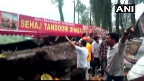 Himachal Pradesh building collapsed: 35 people, including Army soldiers, trapped