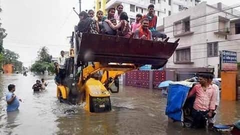 Floods ravage Bihar, Uttar Pradesh; death toll climbs to 80