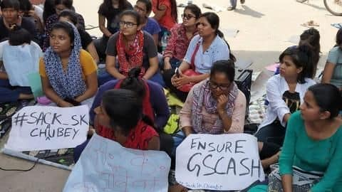 BHU students protest suspended professor's reinstatement after sexual misconduct