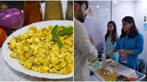 Vegan eggs, waterless shampoo steal attention at IIT-Delhi's Industry Day