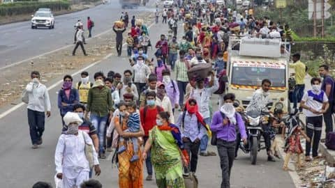 Over one crore migrant workers returned home between March-June: Government
