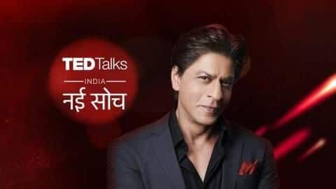 Shah Rukh Khan begins shooting for 'Ted Talks' Season 2