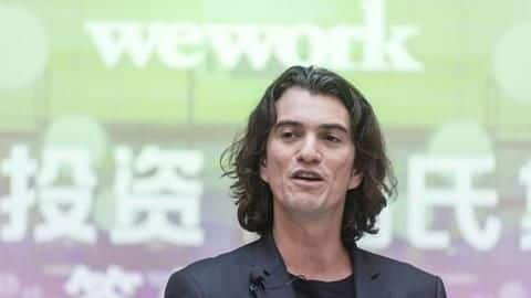 "WeWork CEO wants to live forever, be the ""World's President"""