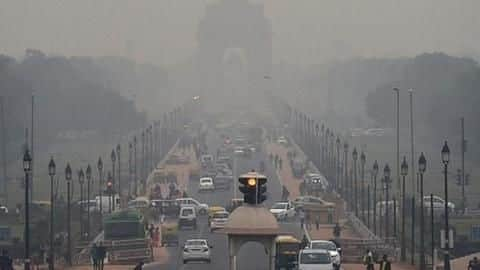 Delhi's air quality 'very poor' for first time this season