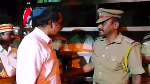 "Tamil Nadu Collector threatens inspector, says ""You are finished"""