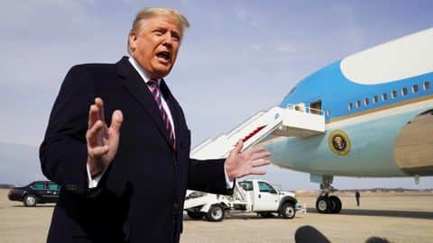 Inside Air Force One Us President Donald Trump S Official Aircraft