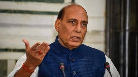 Rajnath Singh likely to address India-China row in Parliament tomorrow