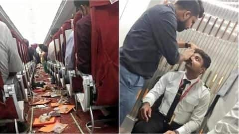 Two Air India flights suffer damages amid turbulence; crew injured
