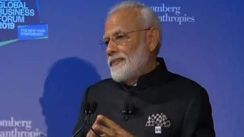 Global Business Forum: Modi invites businesses to invest in India