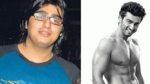 From 140kgs to a whipped body: Arjun Kapoor's weight-loss journey