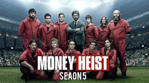 'Money Heist' S05 trailer: Will gang complete robbery without Professor?