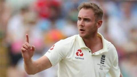 Broad consults sports psychologist ahead of Windies series: Here's why
