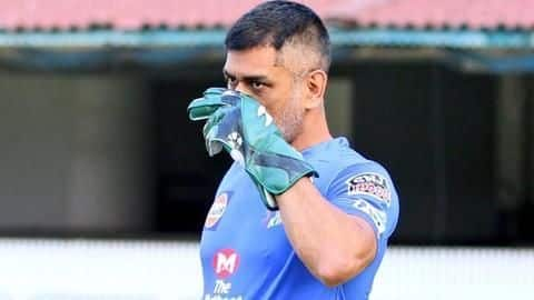 IPL 2020: Dhoni commences wicket-keeping drills for CSK