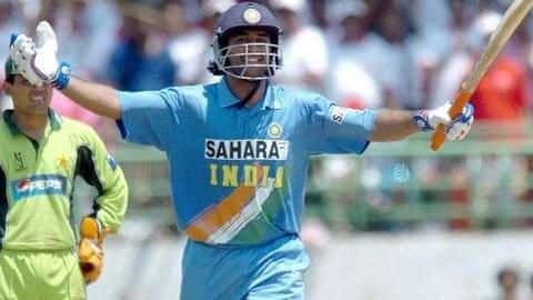 #ThisDayThatYear: MS Dhoni announces his arrival with a blistering ton