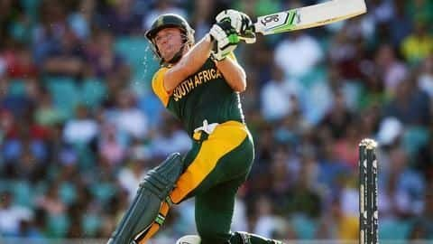 De Villiers uncertain about worldwide comeback
