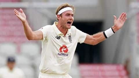 Stuart Broad fined for breaching ICC Code of Conduct