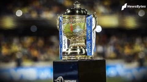 IPL 2020: UAE receives Letter of Intent from BCCI