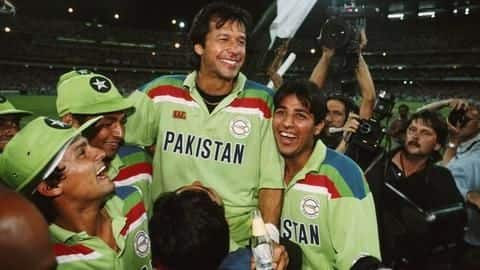 #ThisDayThatYear: Imran Khan's valor handed Pakistan the coveted trophy