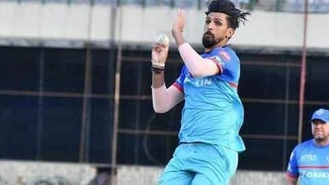 IPL 2020: Ishant Sharma ruled out due to muscle tear