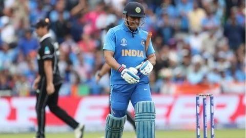 Dhoni's India ambitions are over: Harsha Bhogle