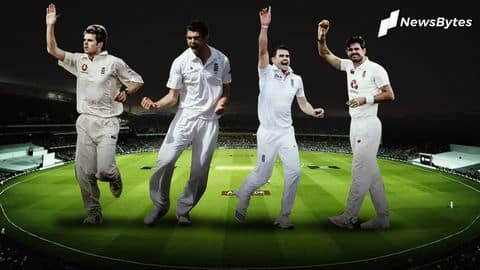 A look at James Anderson's milestone wickets in Test cricket