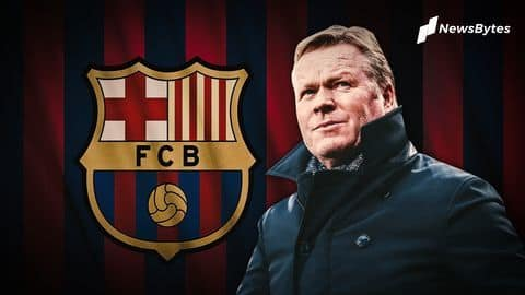 Who is Barcelona's new manager, Ronald Koeman?