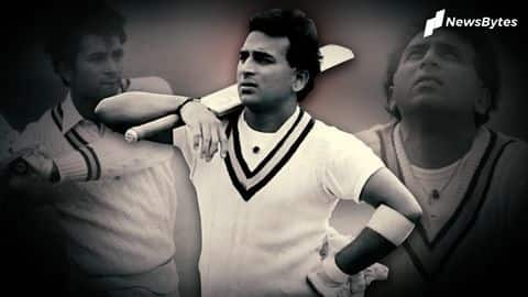 Happy Birthday Sunil Gavaskar: A look at his amazing records