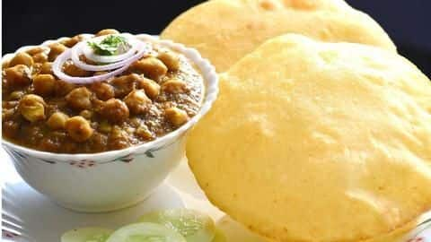 How to make delicious chole bhature at home
