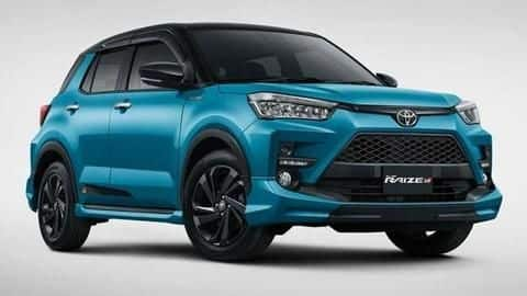 Toyota Raize crossover gets a GR Sport variant in Indonesia