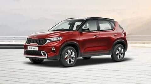 Kia Sonet: Price starts at Rs. 6.71 lakh