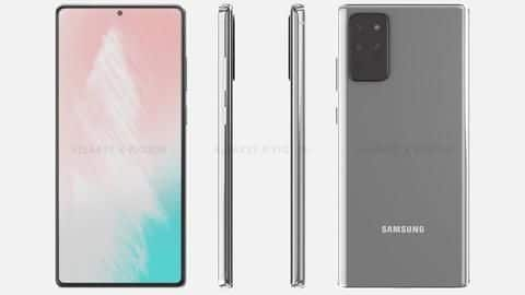 This is how Samsung Galaxy Note 20 might look like