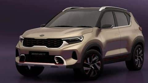 Kia Sonet will debut in India on August 7