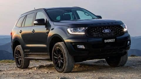 Bookings for Ford Endeavour Sport SUV begin at select dealerships