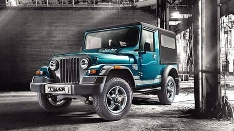 2020 Mahindra Thar to make world premiere on August 15