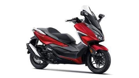 2020 Honda Forza 350 maxi-scooter breaks cover in Thailand