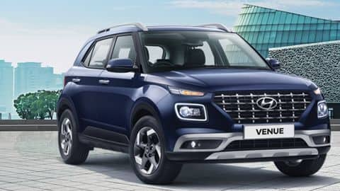 Hyundai Venue sells over 1 lakh units in 1 year