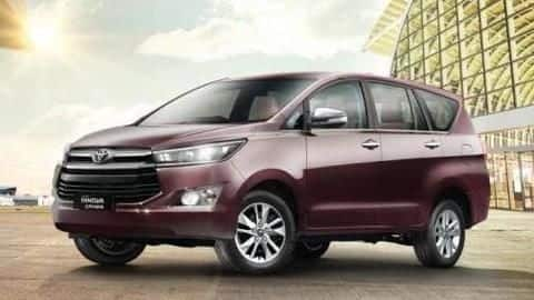 2021 Toyota Innova Crysta's brochure leaked, key features confirmed