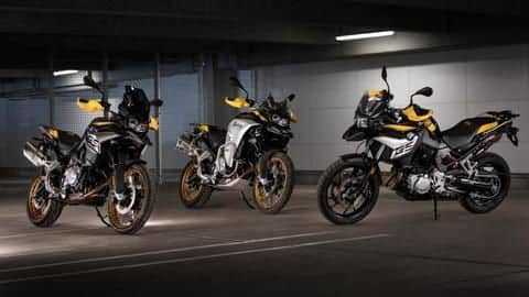 BMW updates F-series GS motorcycles with special livery and features
