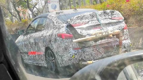 BMW 2 Series Gran Coupe sedan spotted testing in Pune