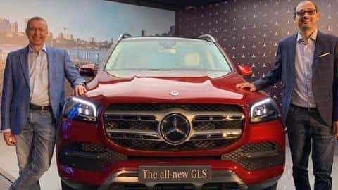 2020 Mercedes-Benz GLS launched in India at Rs. 99.9 lakh