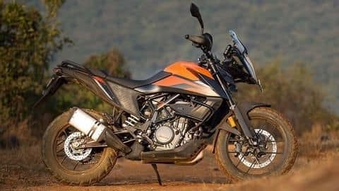 KTM announces financing offers on 390 Adventure motorcycle in India