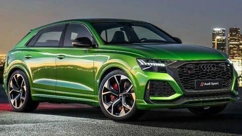 Audi RS Q8 SUV teased in India, launch imminent