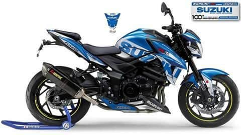 Suzuki celebrates its racing heritage with a GSX-S750 MotoGP Replica