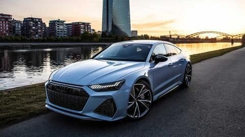 2020 Audi RS7 Sportback teased in India, launch imminent