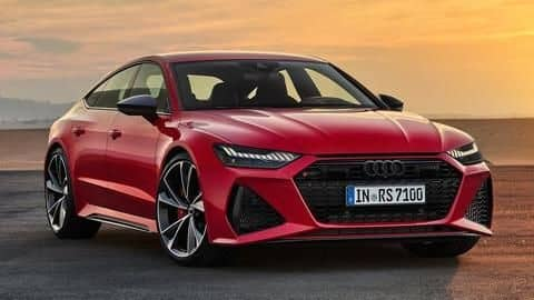 2020 Audi RS7 Sportback launched at Rs. 1.94 crore